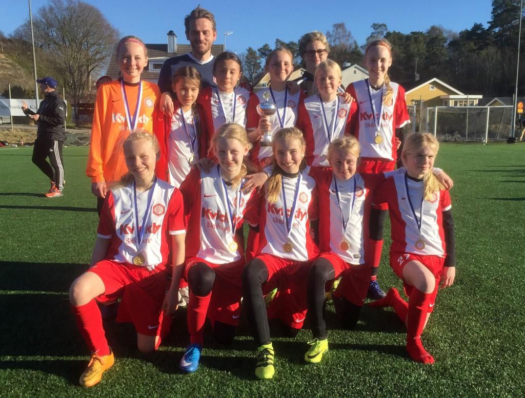 Team Odense (DK) F04 segrare i Tjejcup.se 2017
